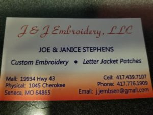 J & J Embroidery